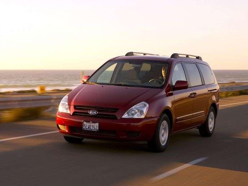 Kia Sedona minivan LWB drugiej generacji 3.8 AT (2006 2010)