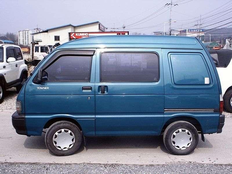 Kia Towner 1st generation five seater van 0.8 LPG MT (1999–2002)