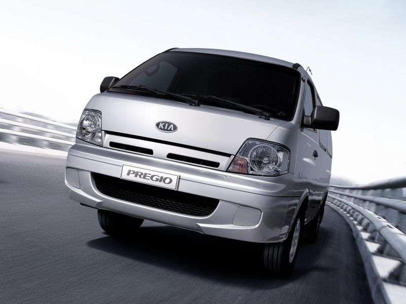 Kia Pregio 1st generation [restyling] Triple van 2.5 TCi MT (2003–2007)