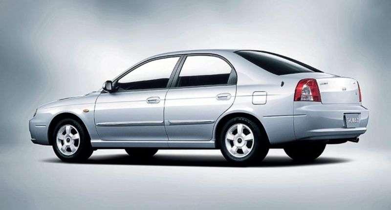 Kia Shuma 2nd generation hatchback 1.8 MT (2001–2004)