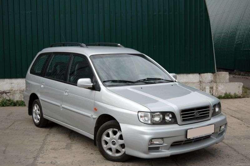 Kia Joice 1st generation minivan 2.0 MT (2001–2002)