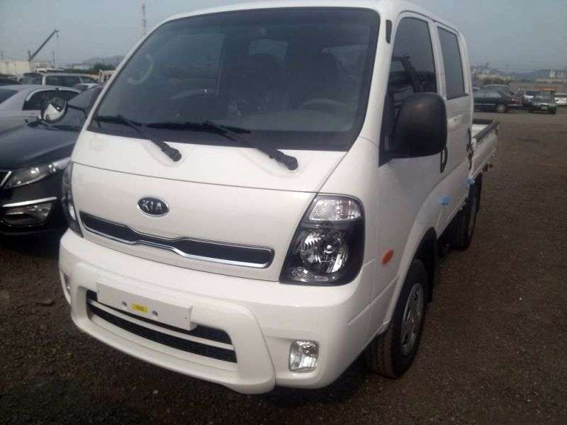 Kia Bongo III [zmiana stylizacji] Deska Double Cab 4 drzwiowa. 2,5 TD MT (2012 obecnie)