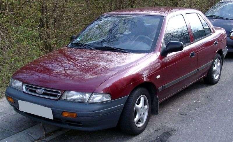 Kia Sephia 1st generation 1.8 MT sedan (1995–1998)