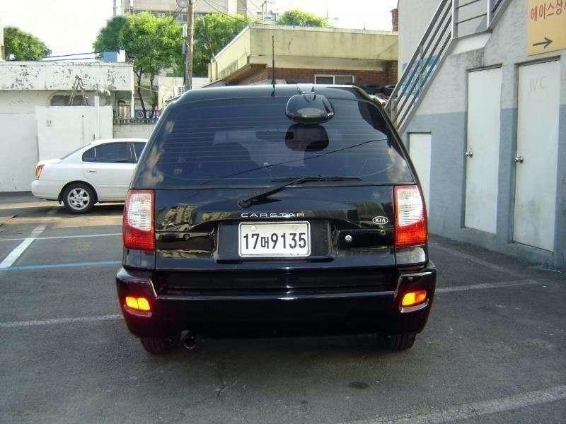 Kia Carstar 1st generation minivan 2.0 LPG AT (2001–2002)