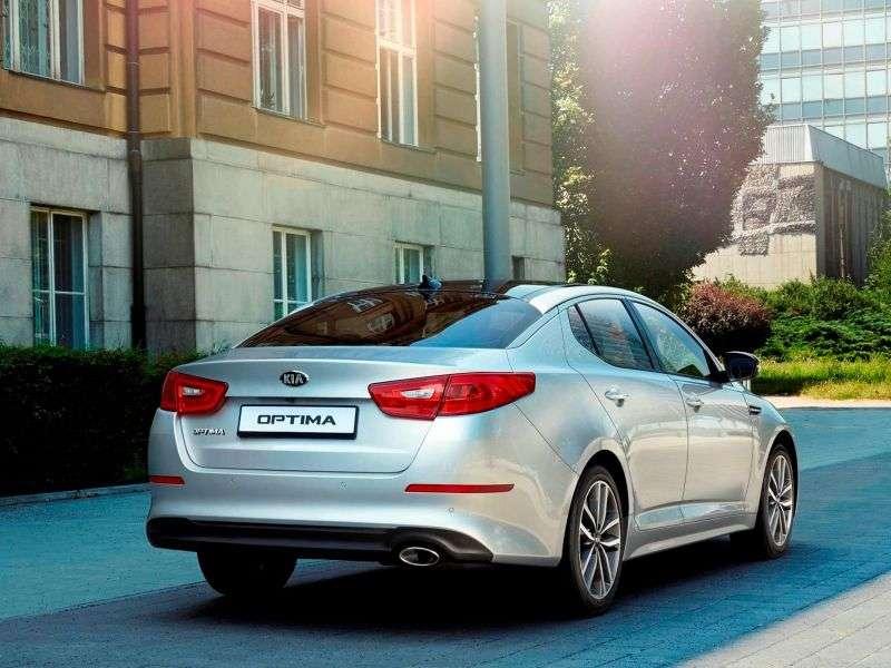 Kia Optima 3. generacji [zmiana stylizacji] sedan 2.4 AT (2013 do chwili obecnej)