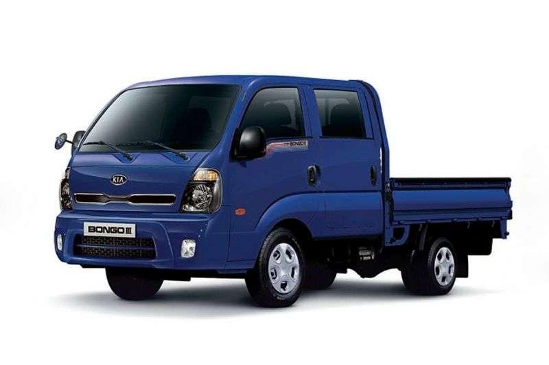 Kia Bongo III [zmiana stylizacji] Deska Double Cab 4 drzwiowa. 2.5 TD MT 4WD (2012 obecnie)