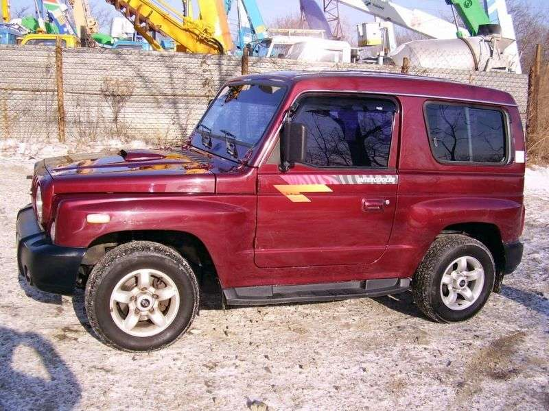 Kia Retona Cruiser [restyled] SUV 2.0 MT (2000–2002)