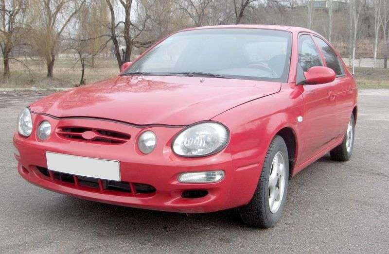 Kia Shuma 1st generation hatchback 1.8 AT (1997–2001)
