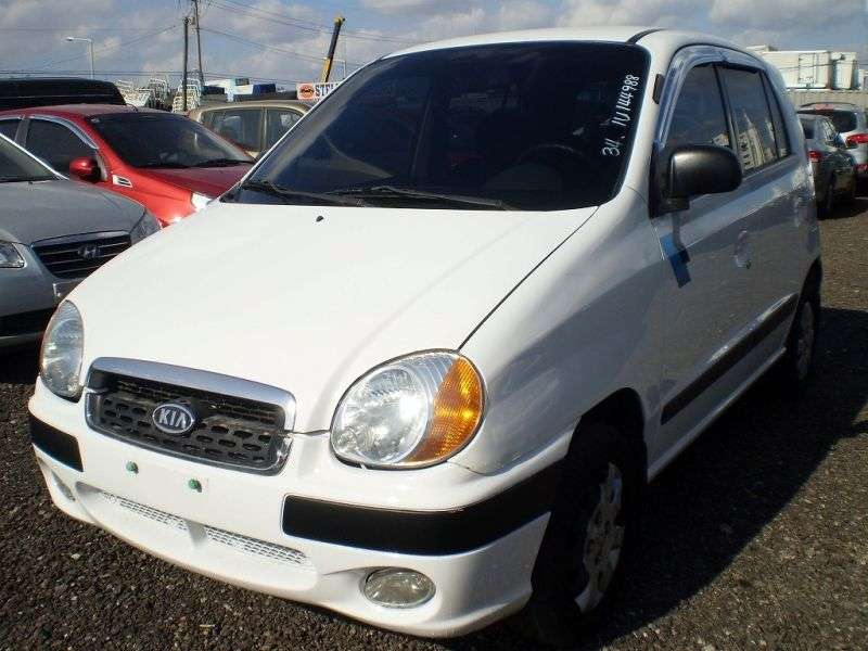 Kia Visto 1st generation hatchback 0.8 MT (1999–2003)