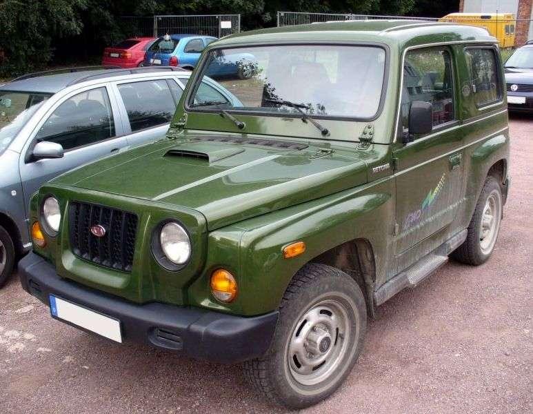 Kia Retona 1st generation SUV 2.0 TD MT (1998–2000)