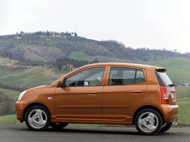 Kia Picanto 1st generation hatchback 1.1 MT (2004–2007)