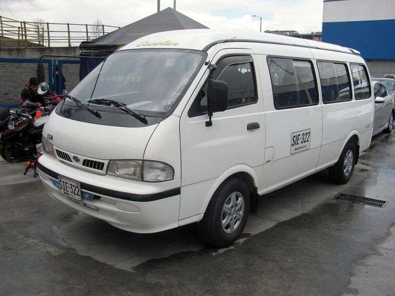 Kia Pregio 1st generation Grand minibus 3.0 D AT (1997–2003)