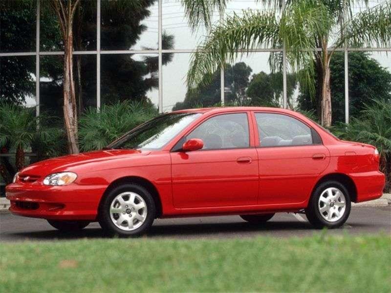 Kia Sephia 2nd generation sedan 1.5 MT GL (2000–2004)