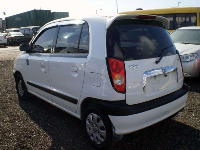 Kia Visto 1st generation hatchback 0.8 LPG MT (1999–2003)