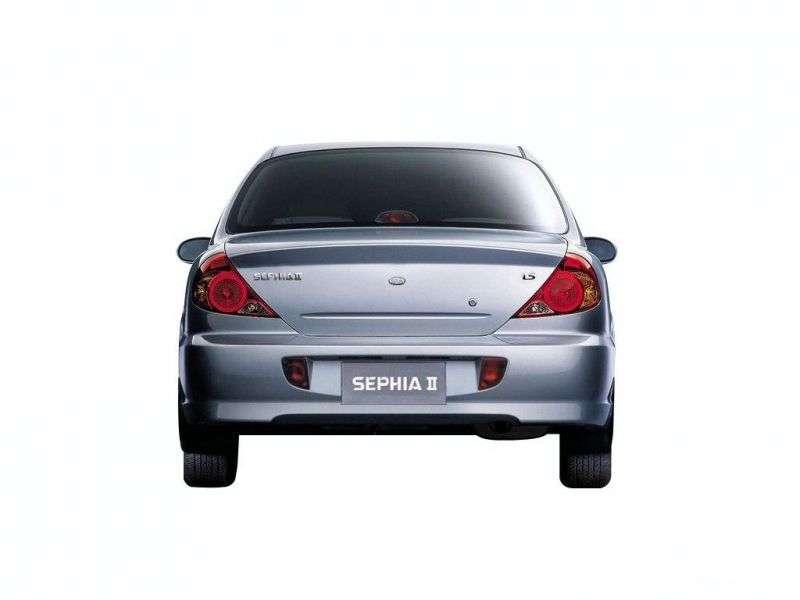 Kia Sephia 2nd generation [restyling] 1.5 MT sedan (1998–2004)