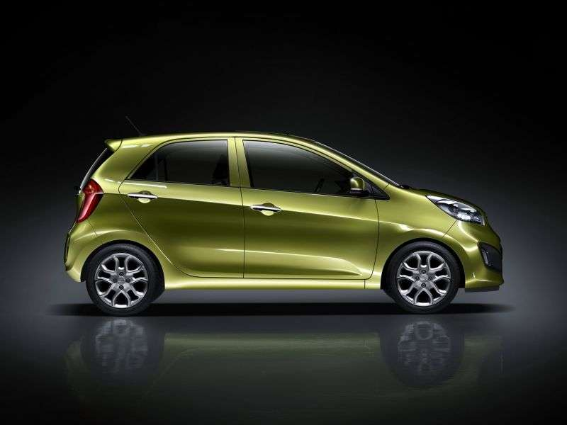 Kia Picanto 2 generation hatchback 5 dv. 1.2 AT Classic (2011 – n. In.)