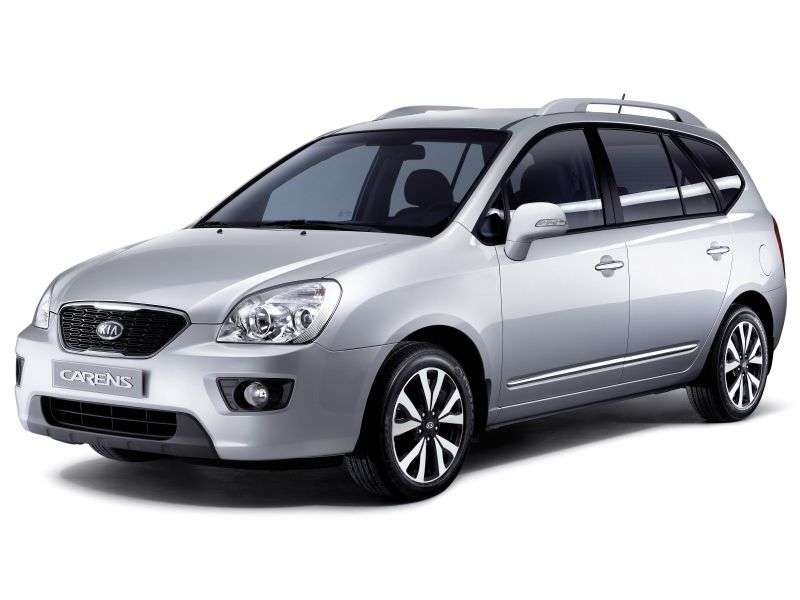 Kia Carens 3rd generation [restyled] minivan 2.0 AT (2010–2012)