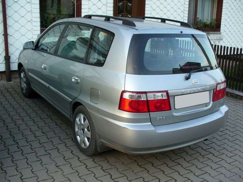Kia Carens 2nd generation minivan 2.0 CRDi AT (2002–2006)