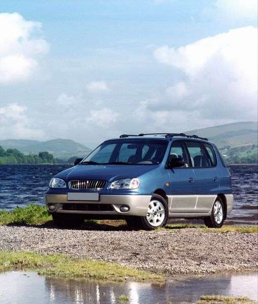 Kia Carens 1st generation minivan 1.8 AT (2000–2002)