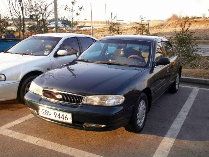 Kia Credos 1st generation 1.8 MT sedan (1995–1998)