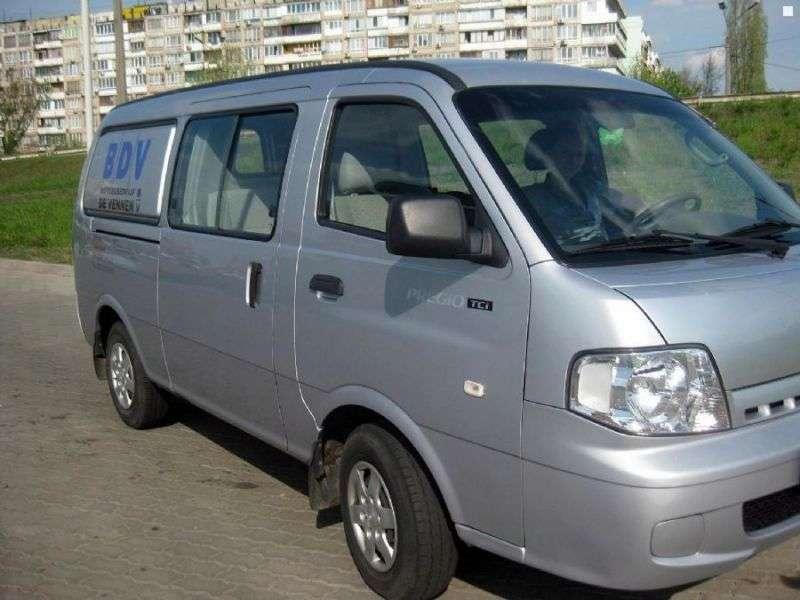 Kia Pregio 1st generation [restyling] 6 seater van 2.7 D MT (2003–2007)