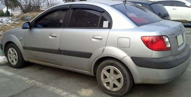 Kia Pride New 1.6 MT (2005–2009)