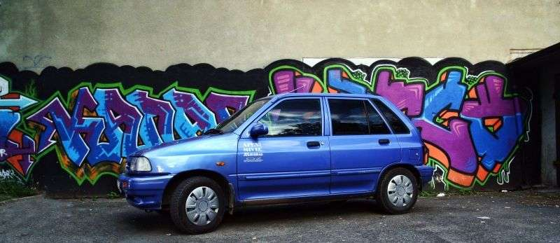 Kia Pride 1st generation hatchback 5 dv. 1.3 MT (1995–1998)