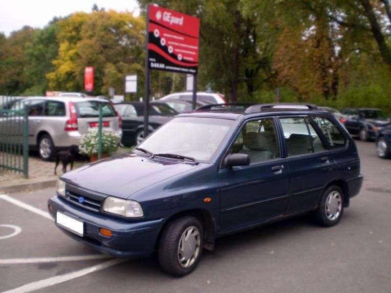 Kia Pride 1st generation wagon 1.3 MT (1998–2000)