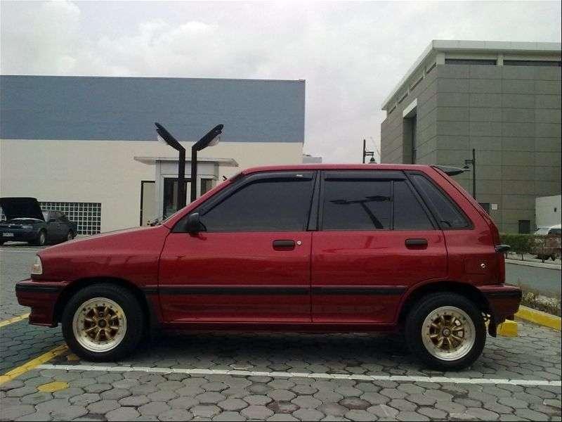Kia Pride 1st generation hatchback 5 dv. 1.3 MT (1988–1995)