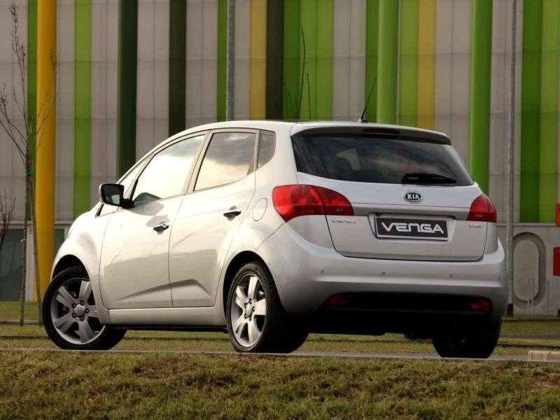 Kia Venga 1st generation minivan 1.6 AT Luxe (2012) (2010 – n.)