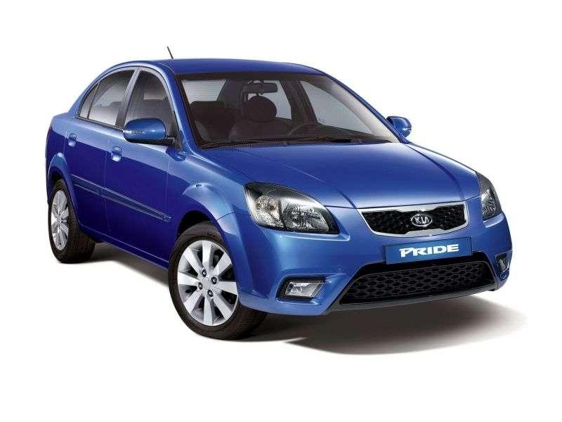 Kia Pride New [restyling] 1.4 MT sedan (2009–2011)