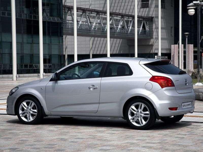 Kia Ceed 3 drzwiowy hatchback Pro ceed pierwszej generacji 1.6 CRDi AT (2008 2010)