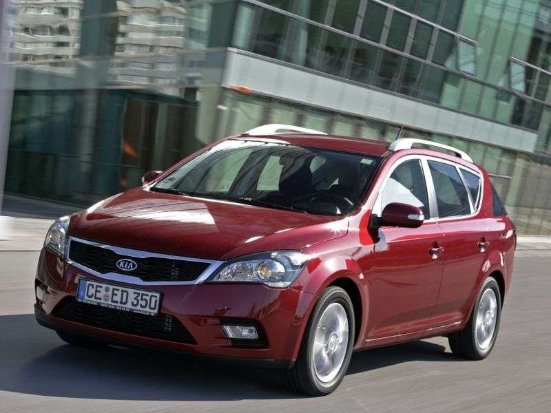 Kia Ceed 1st generation [restyled] SW wagon 2.0 AT Luxe (2010–2012)