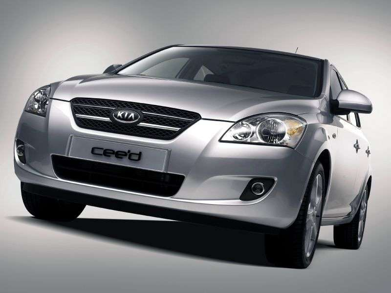 Kia Ceed 1st generation hatchback 5 dv. 1.6 CRDi AT (2008–2009)