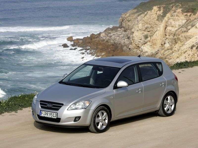Kia Ceed 1st generation hatchback 5 dv. 2.0 CRDi MT (2008–2009)