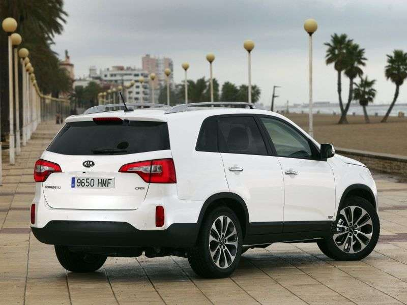 Kia Sorento 2nd generation [restyling] 2.4 AT 4WD Premium (GCA6) crossover (2012 – n.)