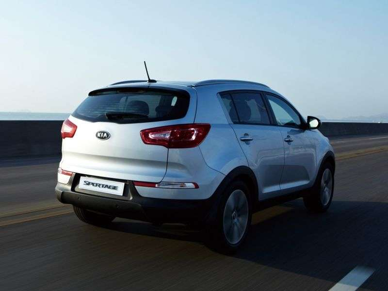 Kia Sportage 3 generation crossover 2.0 AT 4WD Premium (2012) (2010 – n.)