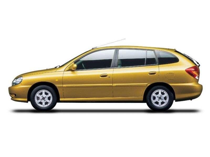 Kia Rio 1st generation wagon 1.5 AT (2000–2002)