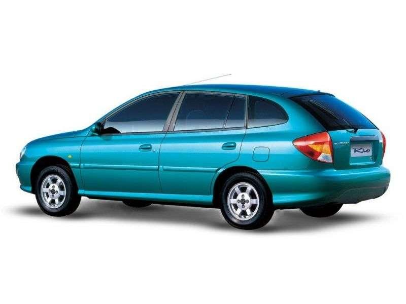 Kia Rio 1st generation wagon 1.3 MT (1999–2002)