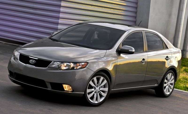 Kia Cerato 2nd generation sedan 2.0 AT Prestige (2013) (2009–2013)