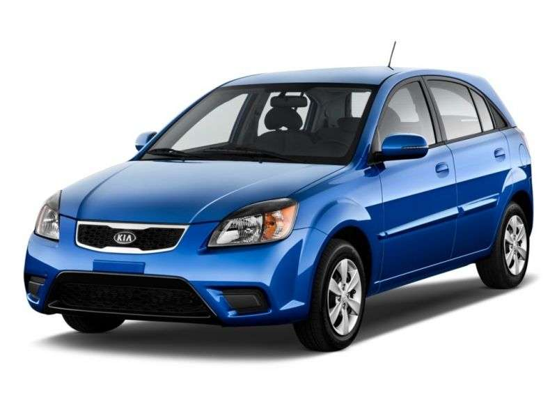Kia Rio 2nd generation [restyled] hatchback 1.5 CRDi MT (2009–2010)