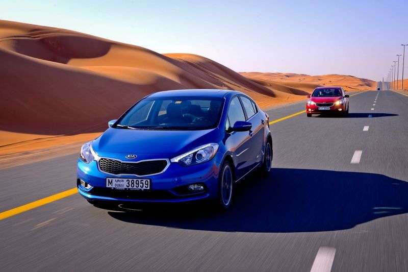 Kia Cerato 3rd generation sedan 2.0 AT Prestige (2013 – n.)