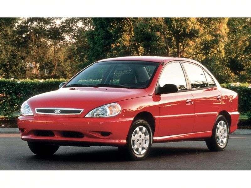 Kia Rio 1st generation sedan 1.5 MT (1999–2002)