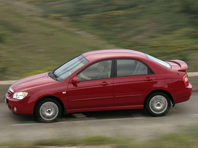 Kia Cerato 1st generation sedan 2.0 MT (2004–2006)