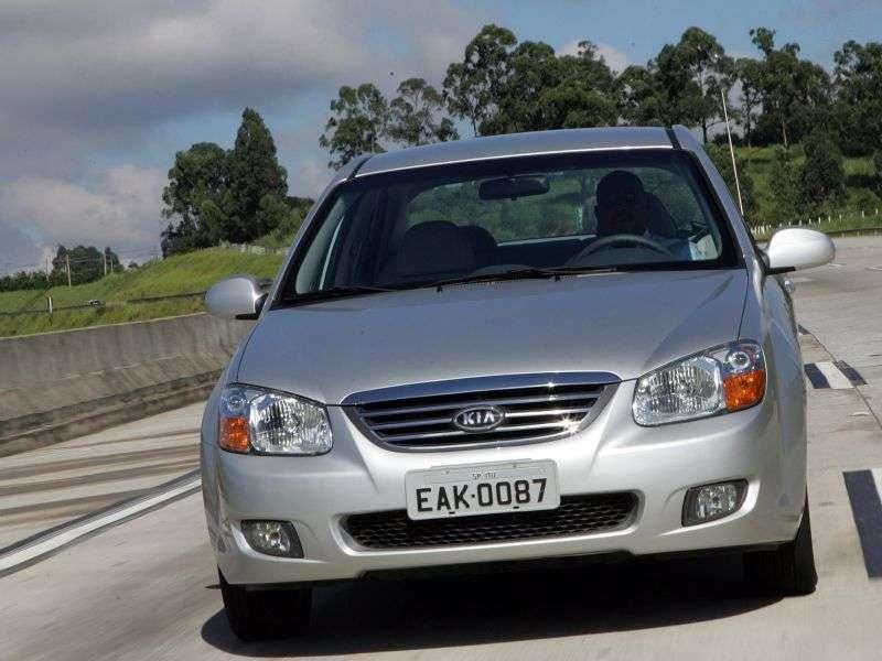 Kia Cerato 1st generation [restyling] sedan 1.6 VGT MT (2007–2009)