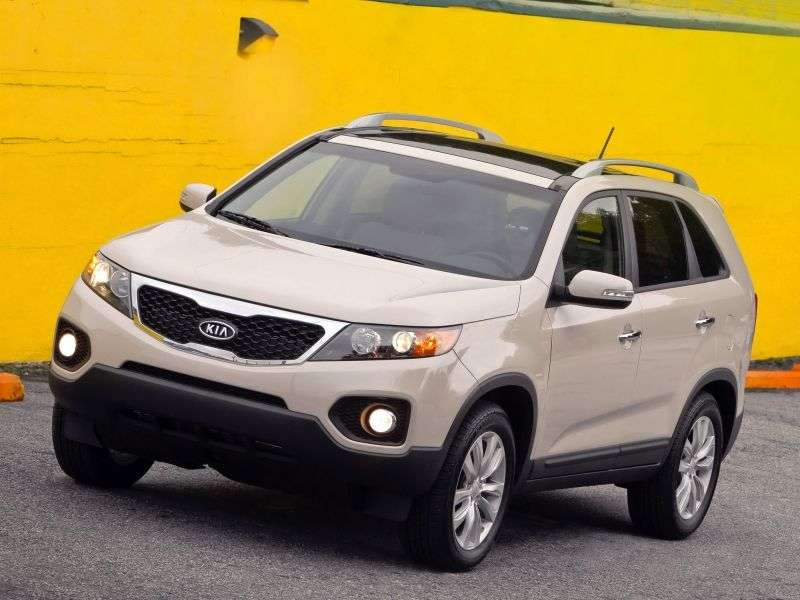 Kia Sorento 2nd generation crossover 2.4 MT 4WD Comfort (2012) (2009–2012)
