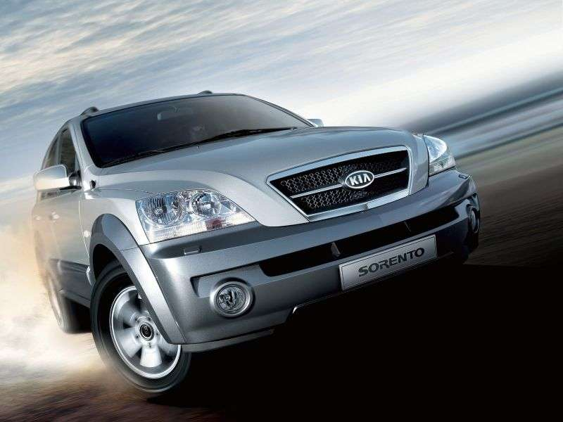 Kia Sorento 1st generation crossover 3.5 4WD 5AT (2005–2006)