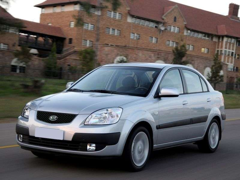 Kia Rio 2nd generation sedan 1.4 AT (2005–2009)