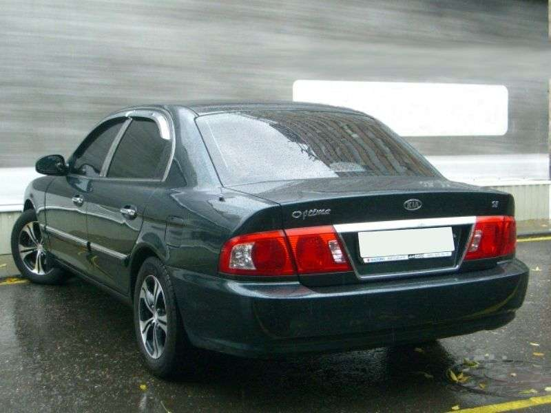 Kia Optima 1st generation [restyled] 2.5 AT sedan (2002–2005)
