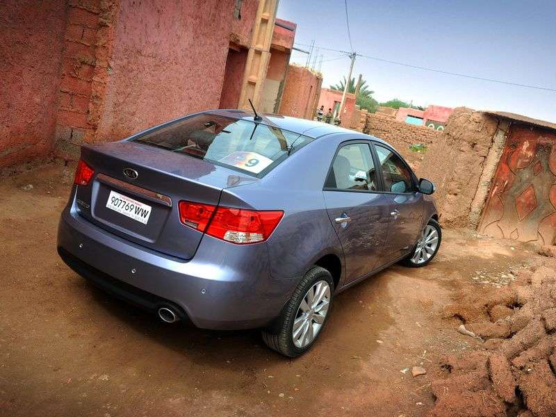 Kia Cerato 2nd generation sedan 1.6 AT Prestige (2012) (2009–2013)